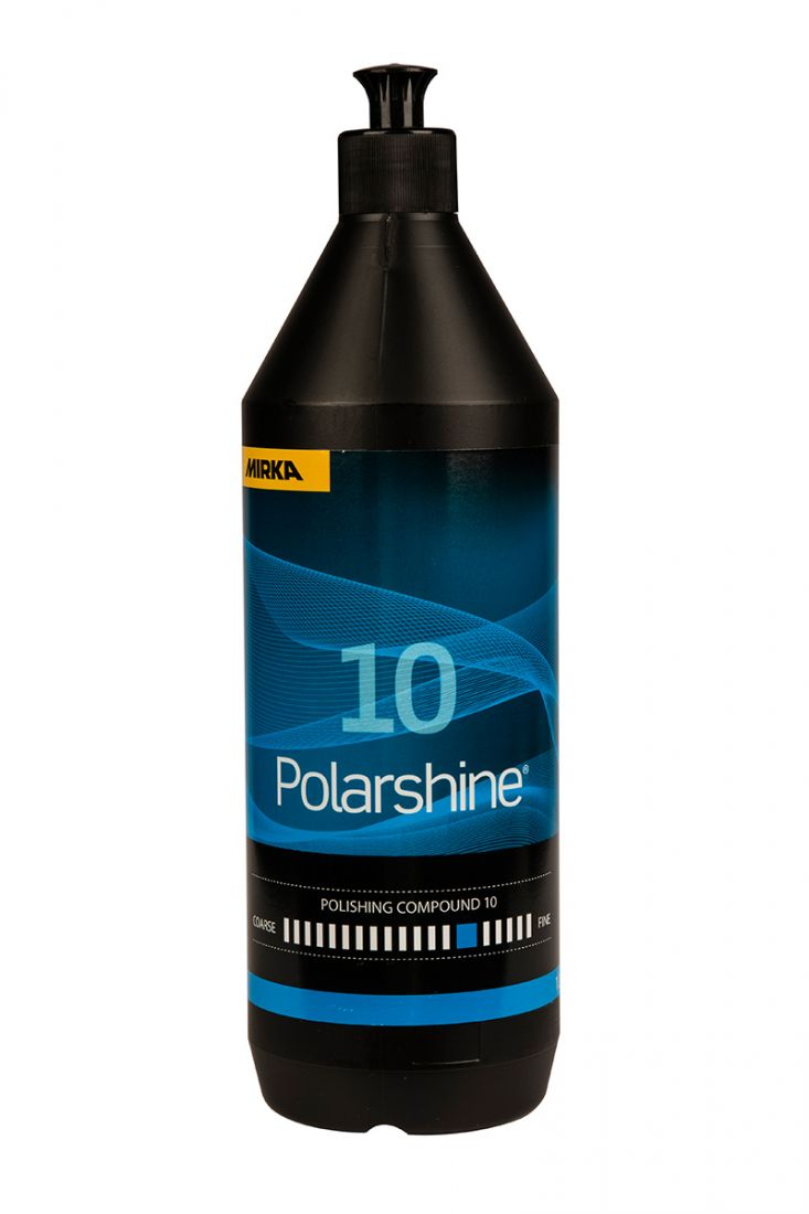 Mirka Полировальная паста Polarshine 10, 1л.