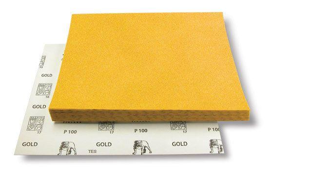 Mirka Шлифовальный материал на бумажной основе GOLD 230x280мм Р400, (упаковка 50 шт.)