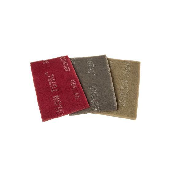Mirka MIRLON TOTAL. Абразивный войлок синтетический 115x230мм UF 1500, (упаковка 25 шт.)