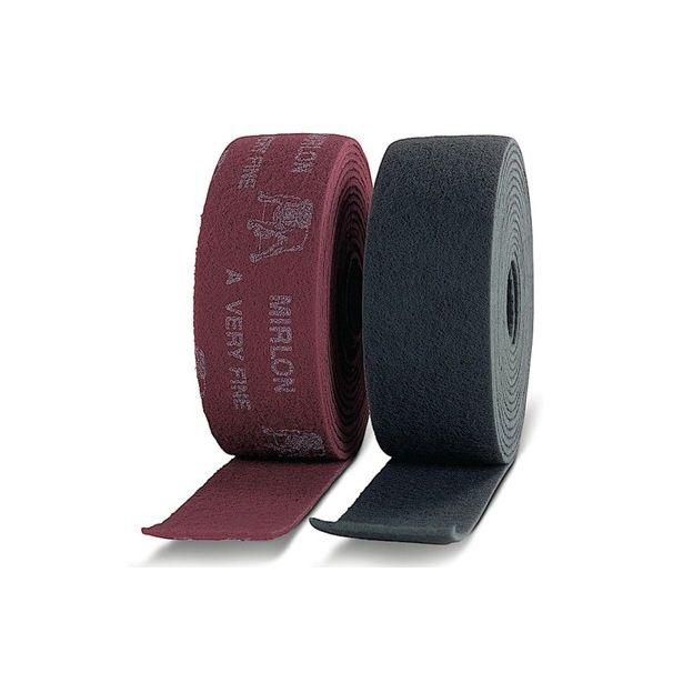 Mirka MIRLON TOTAL. Абразивный войлок синтетический  115мм x 10m VF 360 (красный)