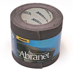 Mirka ABRANET. Абразивный материал на сетчатой синтетической основе 115х10м Р150, (упаковка 1 шт.)