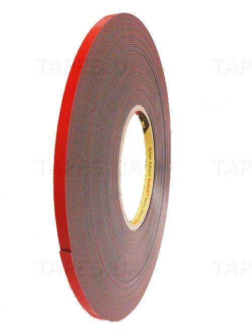 3М Пеноакриловые, двусторонние клеящие ленты 4210, толщина 1,1мм., 6мм. x 20м.