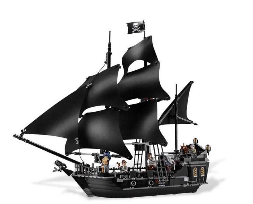 """Конструктор Lele Pirates of the Caribbean""""Черная жемчужина"""" 840 деталей No.39009"""