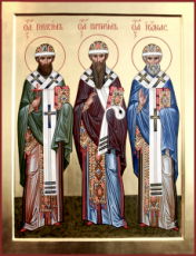 Герасим Великопермский (Устьвымский)  (рукописная икона)