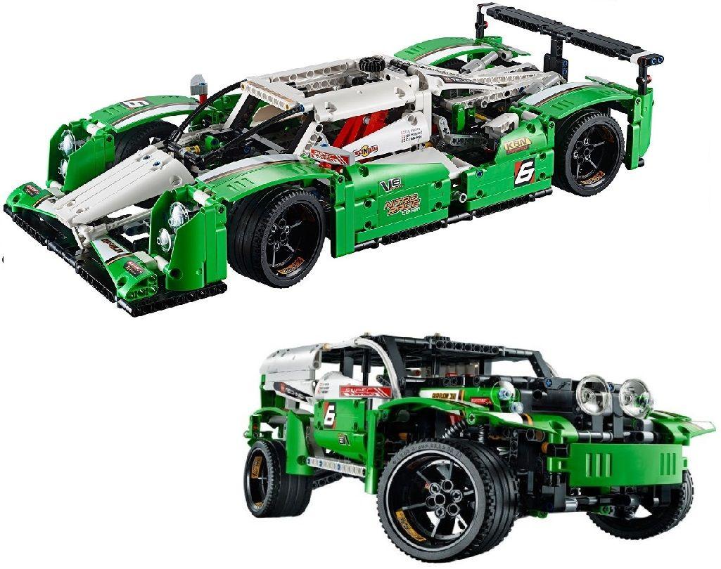 """Конструктор Lele Technics"""" Болид, 2 модели в 1 """"1249 деталей No.38017"""