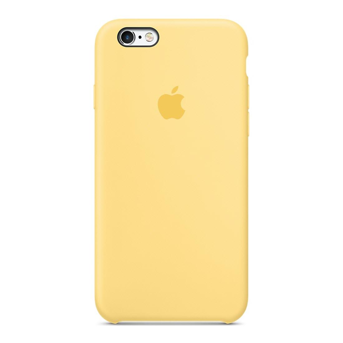 Силиконовый чехол Apple для iPhone 6/6s Yellow