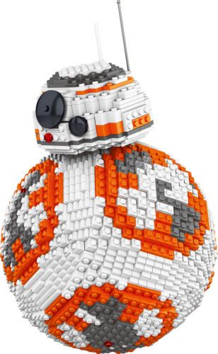 "Конструктор Lele Space Battle "" BB8 Robot "" 2069 деталей No.35020 ( starwars 75187 )"