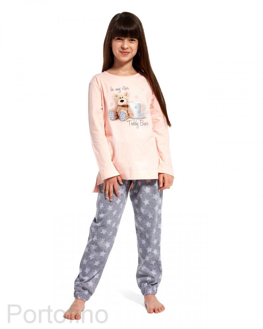 781-84 Пижама для девочки дл.рукав Cornette