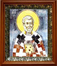 Лев, папа Римский (19х22), светлый киот