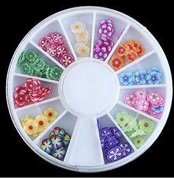 Украшение для дизайна ногтей ФИМО Цветы №1