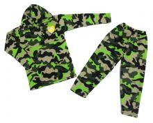 """Костюм: толстовка с капюшон и карманами, штаны dC-KS073(k)-FL (флис камуфляж) """"Мамин Малыш"""" код 01572"""