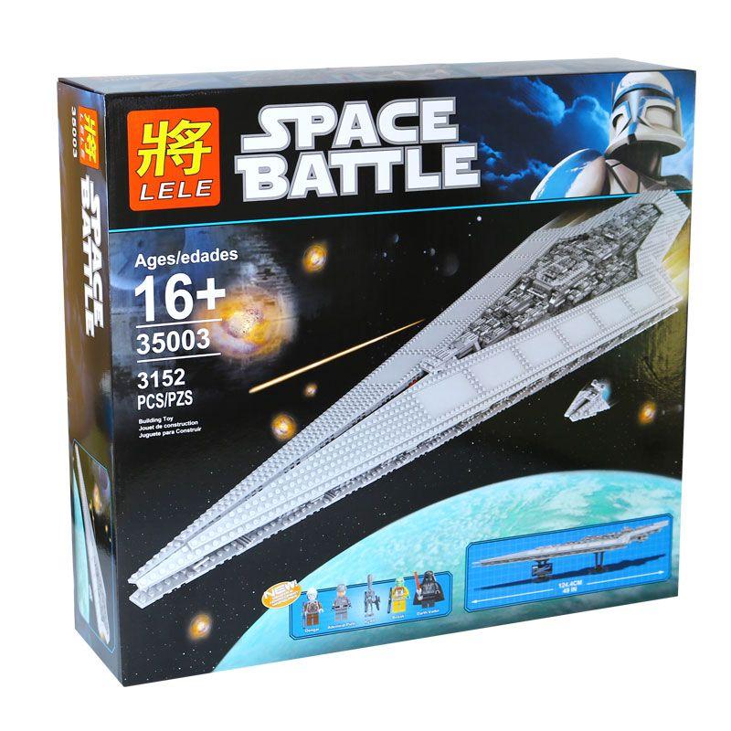 """Конструктор Lele Space Battle """" Имперский разрушитель"""" 3152 деталей No.35003"""