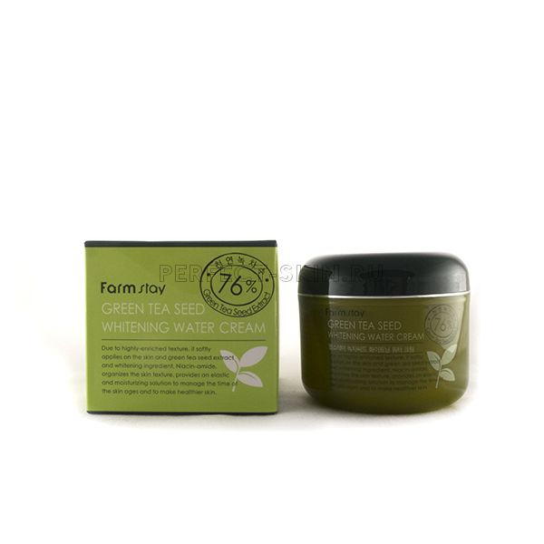 FarmStay Green Tea Seed Whitening Water Cream