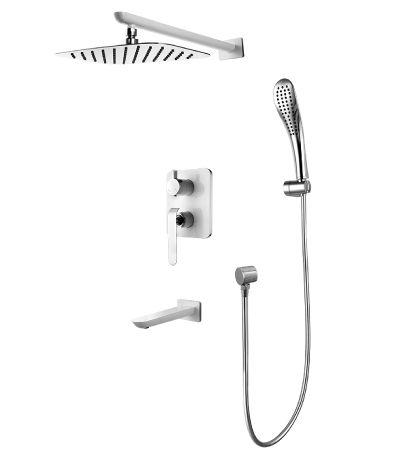 Смеситель для ванны Lemark Melange LM4922CW встраиваемый