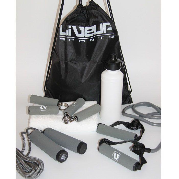 Набор для фитнесса из 6 предметов Liveup