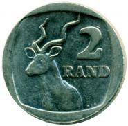 Южная Африка ЮАР 2 ранда
