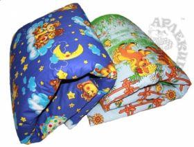 Одеяло и подушка детская А-Р