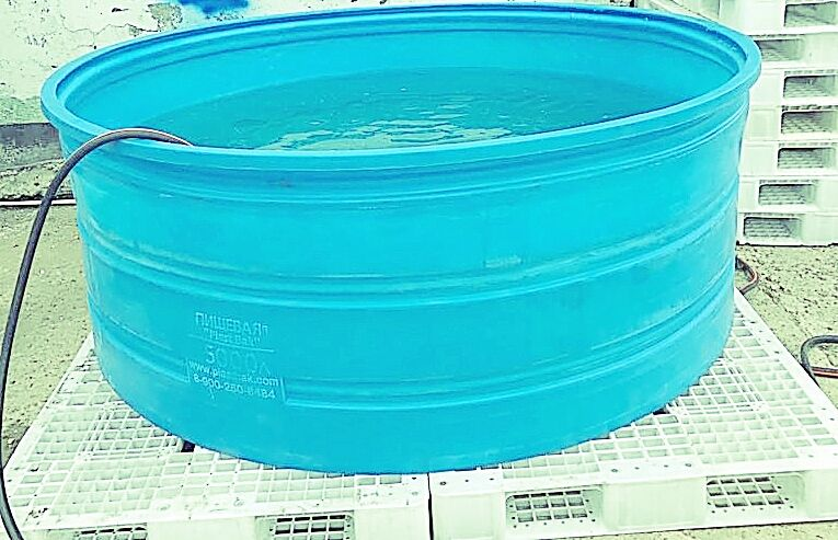 Ванна 3700 л Синяя