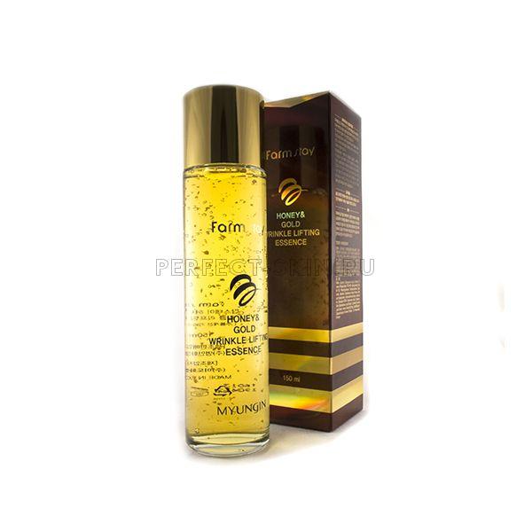 FarmStay Honey & Gold Wrinkle Lifting Essence