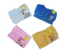 """Костюм: кофта с капюшоном, штаны dA-KS01(k)3-VL (велюр)   Код товара 01576   Оптом от производителя """"Мамин Малыш""""   Размеры 74-80-86-92   Цвет мальчикам, девочкам"""
