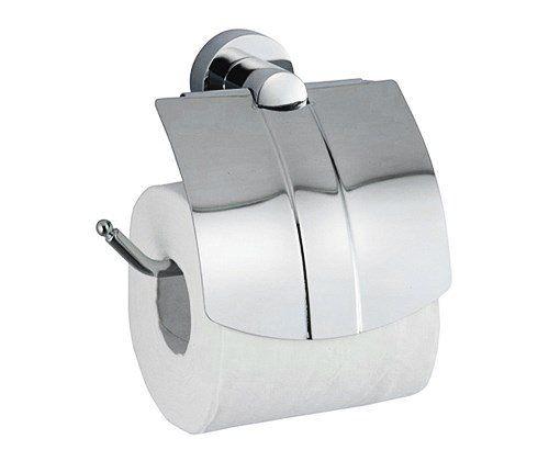 Держатель туалетной бумаги с крышкой WasserKRAFT Donau K-9425