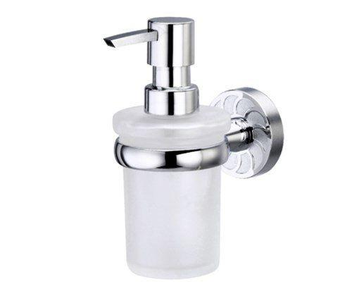 Дозатор для жидкого мыла стеклянный WasserKRAFT Isen К-4099