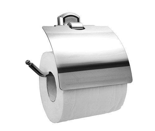 Держатель туалетной бумаги с крышкой WasserKRAFT Oder K-3025