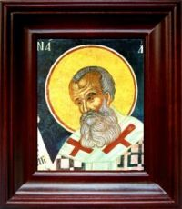 Митрофан Константинопольский (21х24), простой киот