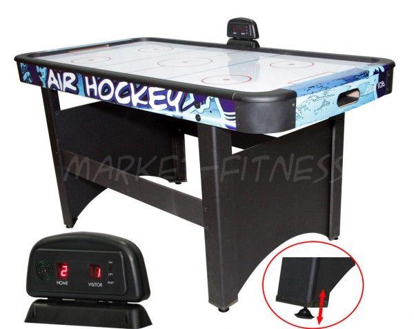 Игровой стол-аэрохоккей DFC Blue Ice (синий) версия 2, 5ф