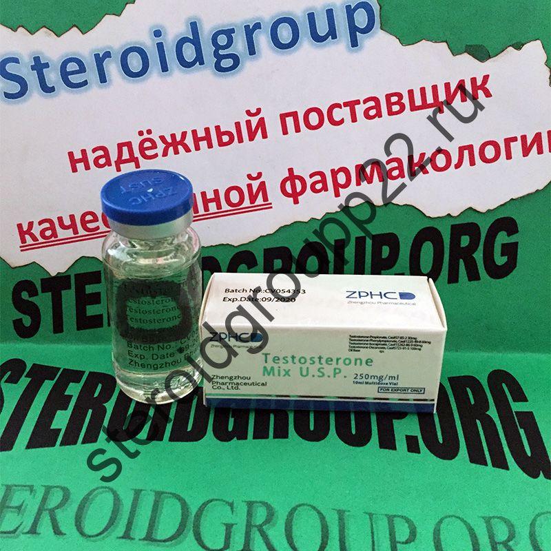 Testosterone Mix (СУСТАНОН). ZPHC    1 флакон * 10 мл.