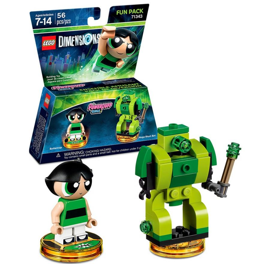 Lego Dimensions 71343 Fun Pack (The Powerpuff Girls)