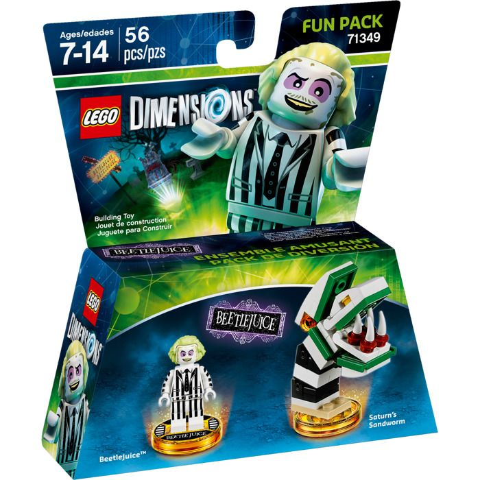 Lego Dimensions 71349 Fun Pack (Beetlejuice)