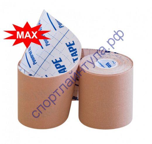 Кинезио тейп BBTape™ МАХ 7,5см × 5м бежевый