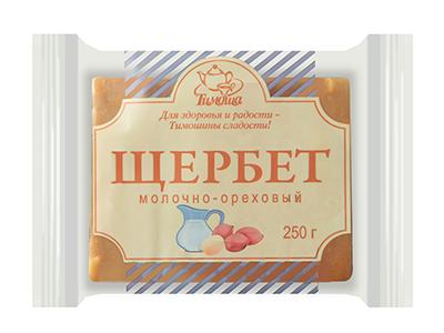 """Щербет молочно-ореховый """"Тимоша""""/4 (уп.)"""
