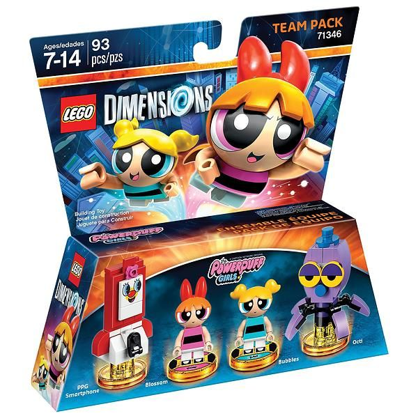 Lego Dimensions 71346 Team Pack (Powerpuff Girls)