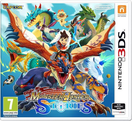 Игра Monster Hunter Stories (Nintendo 3DS)