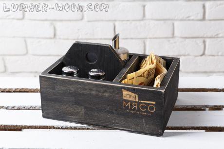 Салфетница Большая коробка. Арт. 791