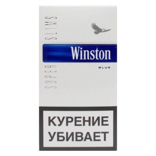 Сигареты Winston Super Slims Blue