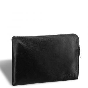 Мягкой формы деловая папка для документов BRIALDI Trevi (Треви) relief black