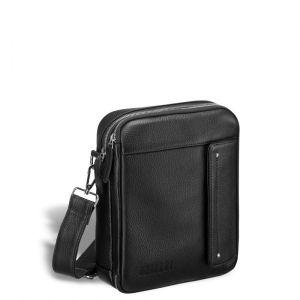 Оригинальная сумка через плечо BRIALDI Grand Montone (Монтоне) relief black
