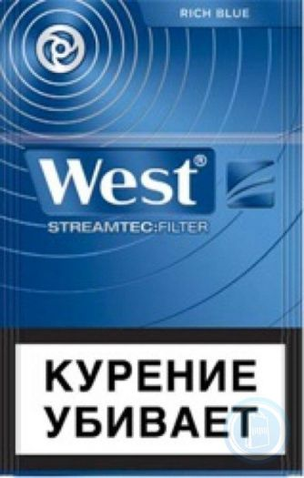 Сигареты West Rich Blue Streamtec Filter