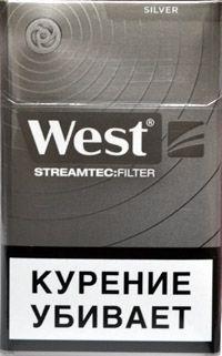 Сигареты West Silver Streamtec Filter