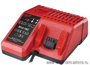 Зарядное устройство MILWAUKEE M12-18C 4932352959