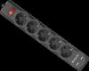 Сетевой фильтр DFS 755 5,0 м, 5 розеток, 2xUSB, 2.1A