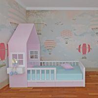 Кровать Домик Butterfly №IR10 (любые размеры)