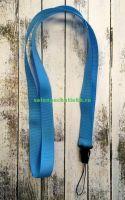Лента для бейджей (ланьярд), голубой