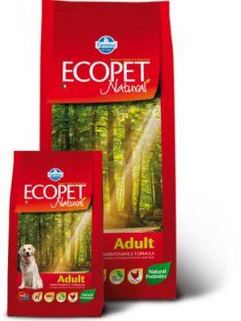 Ecopet Natural Adult (Экопет Нэчурал для взрослых собак всех пород с курицей)