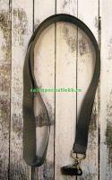 Лента для бейджей (ланьярд), серый
