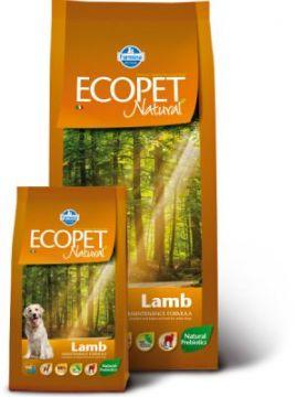 Ecopet Natural Lamb Adult (Экопет Нэчурал для взрослых собак с ягненком)