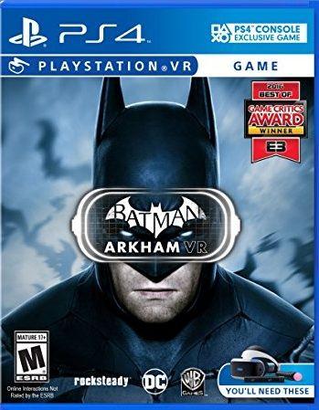 Batman: Arkham VR (только для PS VR) PS4